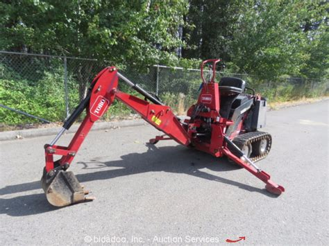 toro dingo mini excavator hydraulic backhoe attachment skid steer accessory ebay