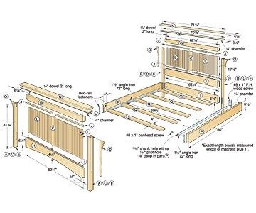 plans queen bed woodworking plans    workbench plans machozst