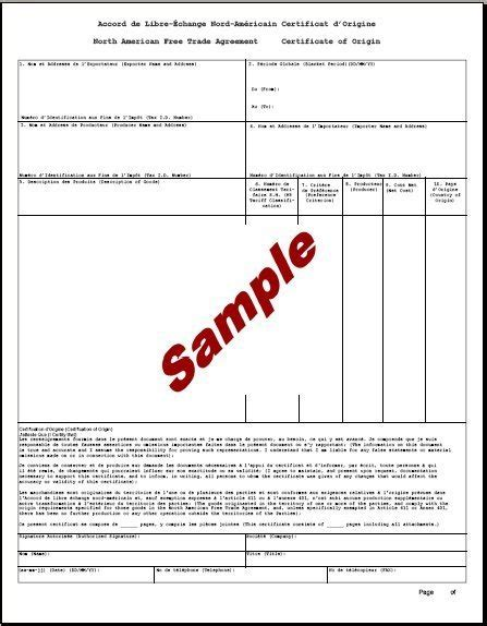 certificate of origin template 5 certificate of origin templates excel pdf formats