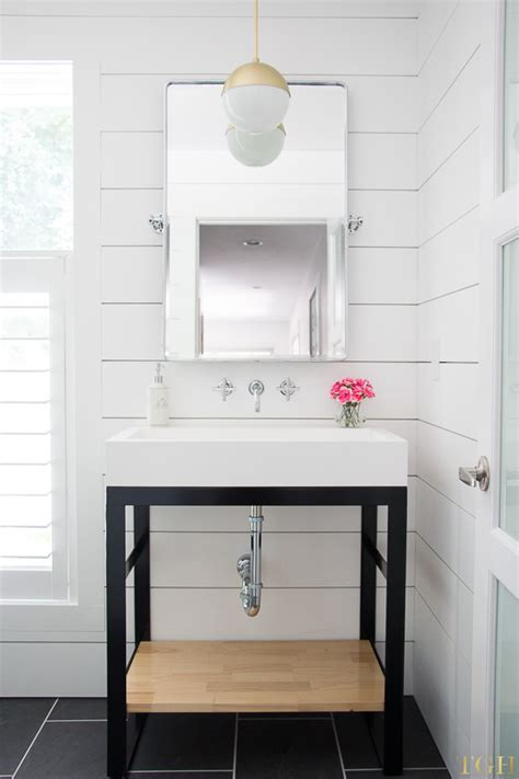 small bathroom makeover ideas white modern bathroom makeover the greenspring home