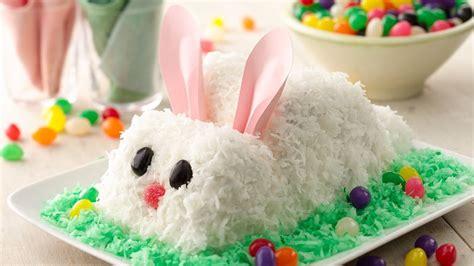 easter bunny cake recipe tablespooncom