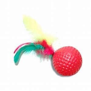 Balle Pour Chat : balle de golf n on balles pour chat wanimo ~ Teatrodelosmanantiales.com Idées de Décoration