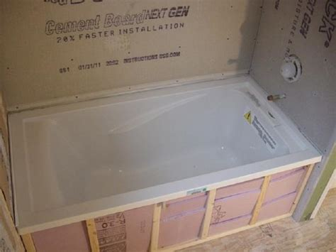 Tiling A Bathtub Alcove by Kathy S Alcove Tub Project Page 3 Ceramic Tile Advice