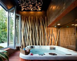 24 ideas for decorative bamboo poles how bamboo is used With ornate interior design decoration