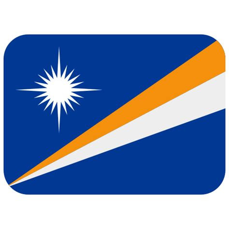 Flag: Marshall Islands Emoji Meaning with Pictures: from A ...
