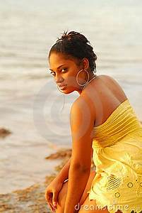 Pretty Caribbean Island Girl Stock Images - Image: 8923424