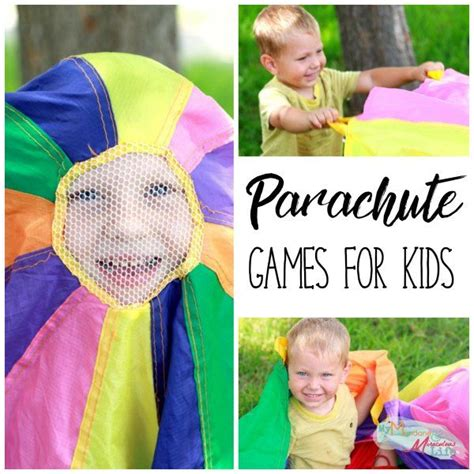 best 25 parachute for ideas on 272 | 90554fe177458f617dcdf244b20ad94e parachute games games for kids