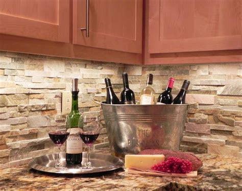 Stacked Stone Backsplash  Cleaning Tips  Pinterest