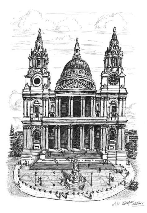 St Pauls Cathedral London - Original drawings, prints and