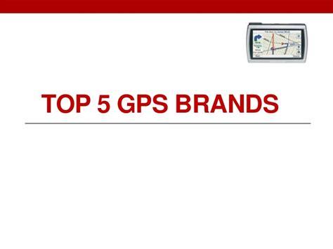 Top 5 Gps Brands