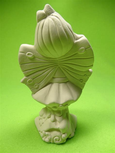 garden fairy iris baby fairies miniature ceramic figurines