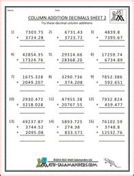 column addition money 4th grade money printable worksheet 3rd 4th grade daily math math