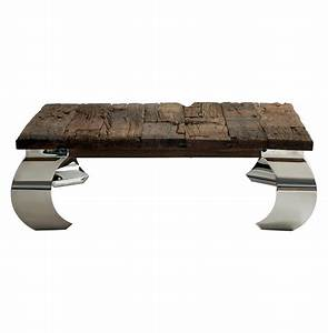 Sid modern rustic lodge wood silver base square coffee for Wood and silver coffee table
