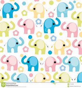 Colorful Elephant With Flowers Vector Stock Vector - Image ...