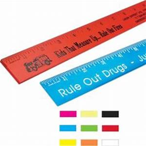 12-Inch Solid Ruler -- 12-inch ruler includes inch and ...