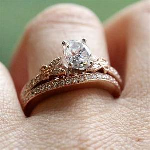 rose gold engagement rings miadonnar the future of diamondr With gold wedding and engagement rings