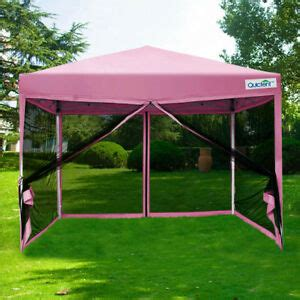 quictent  pink easy pop  canopy  netting screen house mesh side wall  ebay