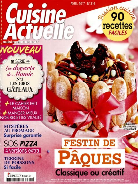 abonnement cuisine abonnement cuisine actuelle