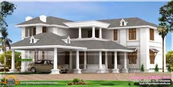luxurious home plans big luxury home design kerala home design and floor plans