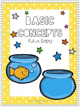 basic concepts full  empty  jessica mancinik tpt