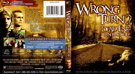 wrongturn deadendunrated  blu ray scanned