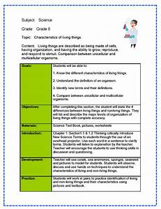 cooperative learning lesson plan template - science lesson plan sample from teachnology erica 39 s