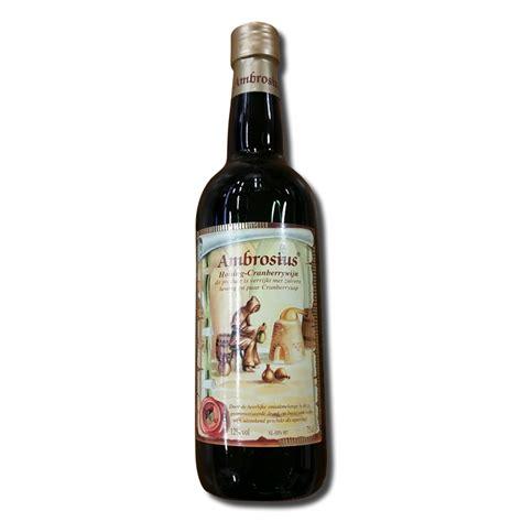 t駘駱hone de bureau ambrosia honing cranberry wijn rood vakantie service bureau terschelling
