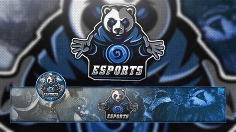 Free Gaming / Clan Mascot Logo / Banner & Avatar Template
