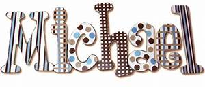 michael39s blue and brown hanging wooden letters With hanging wooden letters michaels