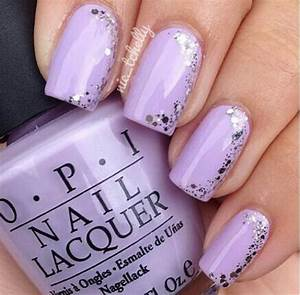 Purple nail art designs gag fire