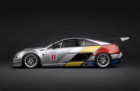 Cadillac Cts V Race Car by 2011 Cadillac Cts V Coupe Race Car Auto Cars Concept