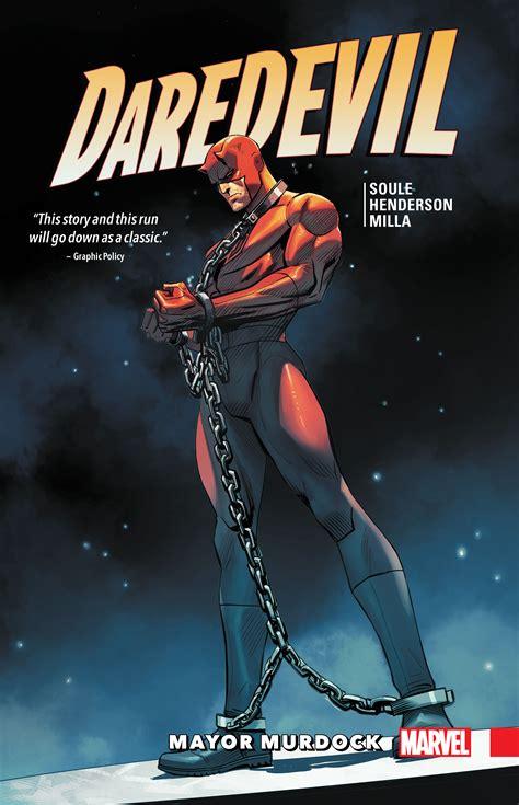 Daredevil Vol 7 daredevil back in black vol 7 mayor murdock trade