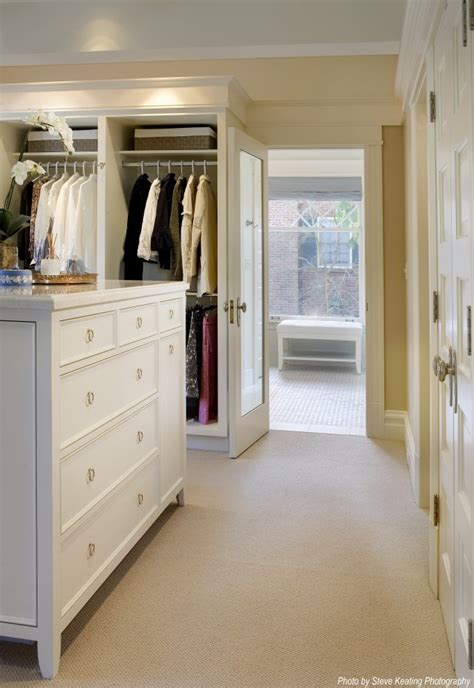 Bathroom And Closet Designs by Walk Through Closet Design Pictures Remodel Decor And
