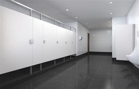 industrial ceiling commercial bathroom design trends modern