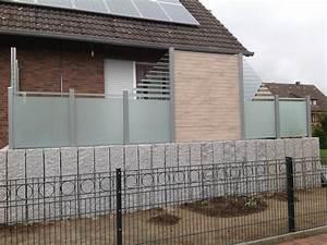 Zaun Aus Glas : sichtschutz glas sichtschutz milchglas fabulous sichtschutz glas terrasse zaun 67 sichtschutz ~ Yasmunasinghe.com Haus und Dekorationen
