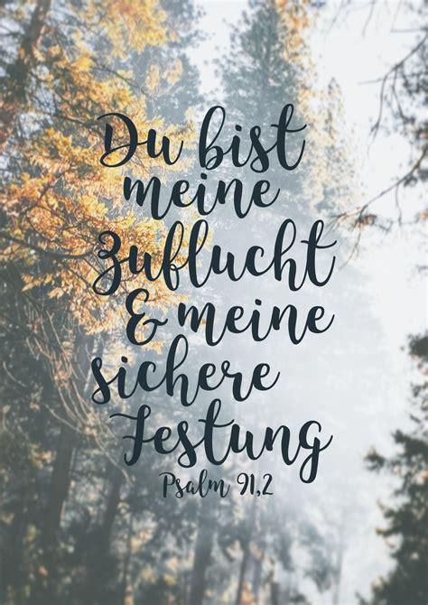 du bist meine zuflucht und meine sichere festung psalm