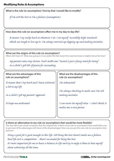 super teacher cbt worksheets  therapy amp