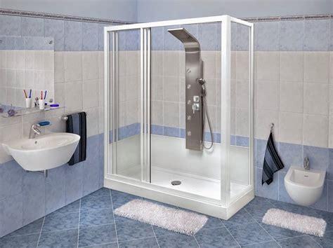 cambio vasca da bagno in doccia cambio vasca con doccia per un bagno pi 249 dinamico