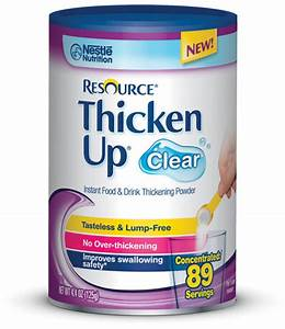 Resource Thickenup Clear Shown To Reduce Aspiration Risk