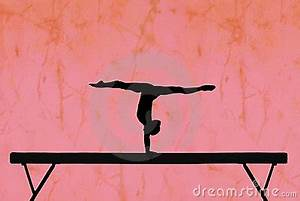 Gymnast on Beam Clipart (43+)