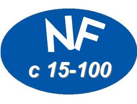 nfc 15 100 cuisine schema electrique