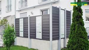 Grüner Sichtschutz Terrasse : alu sichtschutz wei enhorn kaupp balkone ~ Markanthonyermac.com Haus und Dekorationen