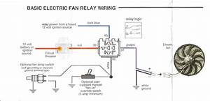 Electric Fan Wiring Diagram