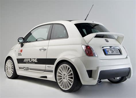 Fiat 500 Spoiler by Fiat 500 By Alpine