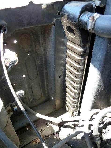 upgrade installing  longer wd  ton  radiator
