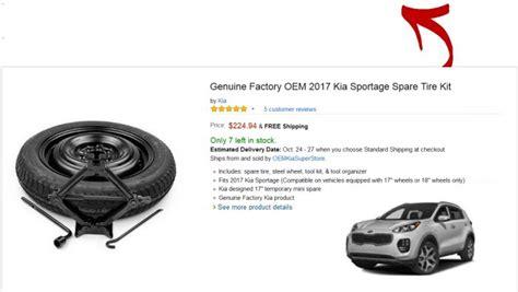 kia optima hybrid spare tire   car reviews