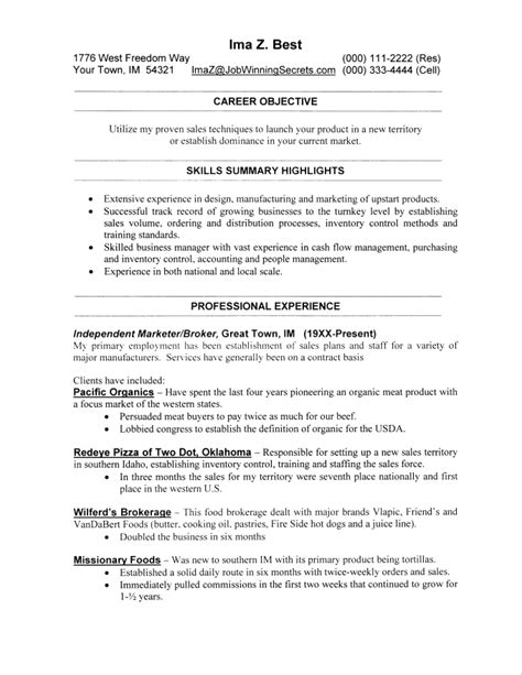 accomplishment resume exles best free resume collection
