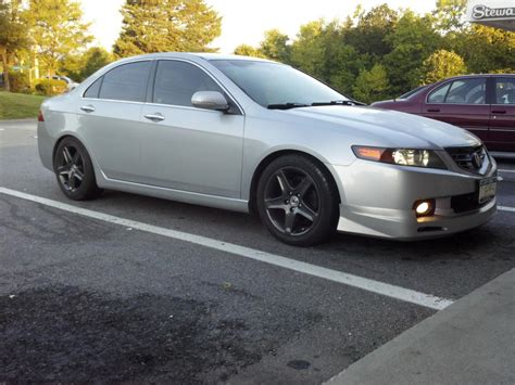 installed acura mugen style body kit   tsx cl