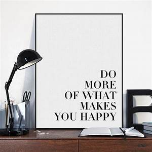 Lifestyle And More : minimalist black white motivational typography quotes art print poster wall picture living room ~ Markanthonyermac.com Haus und Dekorationen