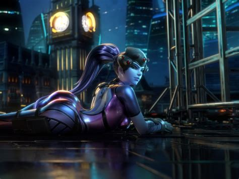 wallpaper widowmaker overwatch  games